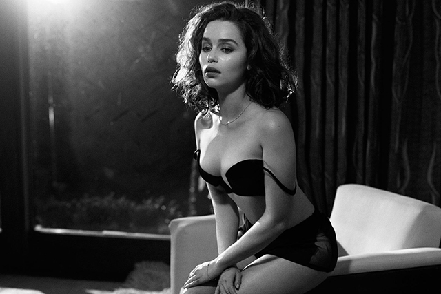 Emilia clarke lingerie