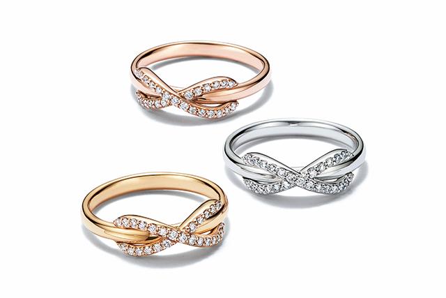 Infinity Knot Ring Tiffany